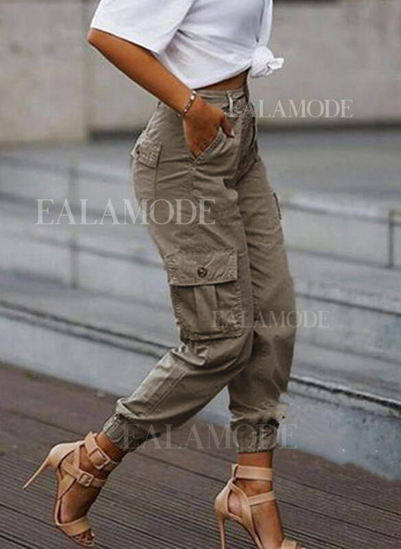 Pockets Plus Size Camouflage Casual Tribal Pants