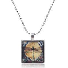 Bohemisk Hetaste Legering Glas Halsband
