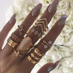 Snygg Legering Smycken Sets Ringar