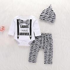3-pieces Baby Boy Print Cotton Set