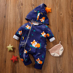 Baby Cartoon Animal Cotton One-piece