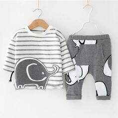2 stycken baby pojke Tecknad Djur Bomull Komposition