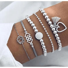 Stylish Charming Valentine's Day Alloy Women's Ladies' Bracelets (Set of 5 pairs)