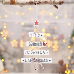 Jul god Jul Hängande Trä
