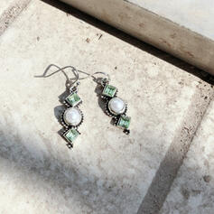 Charming Pretty Artistic Romantic Alloy With Imitation Pearls Pearls Women's Earrings