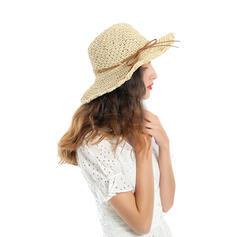Ladies' Beautiful/Simple Raffia With Bowknot Straw Hats