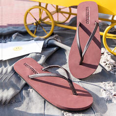 Women's EVA Flat Heel Sandals Flats Peep Toe Flip-Flops Slippers With Hollow-out shoes