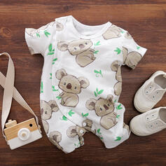 Baby Print Cotton One-piece