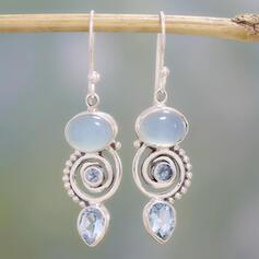 Charming Pretty Artistic Romantic Alloy With Rhinestones Minimalist Women's Earrings