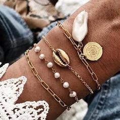 Legering Smycken Sets Armband (Sats om 4)
