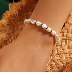 Enkel Elegant Fauxen Pärla Armband