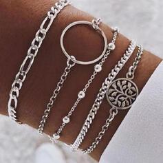Snygg Legering Smycken Sets Armband (Sats om 5)