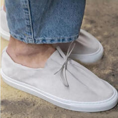 Women's Leatherette Flat Heel Flats Round Toe Espadrille Sneakers With Hollow-out shoes
