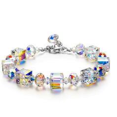 Lysande Vackra Och Legering Kristall Armband 2 st