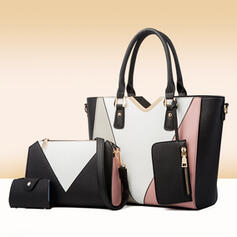 Fashionable/Splice Color/Multi-functional Tote Bags/Crossbody Bags/Bag Sets