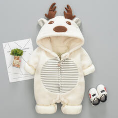 baby Jul Deer Djur Kantig Bomull Baddräkter