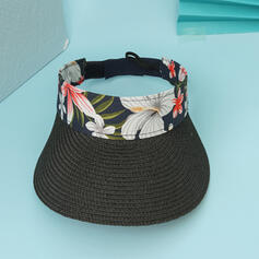 Ladies'/Women's Unique/Simple Raffia Straw Beach/Sun Hats