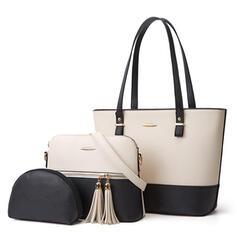 Fashionable/Splice Color/Multi-functional Crossbody Bags/Bag Sets