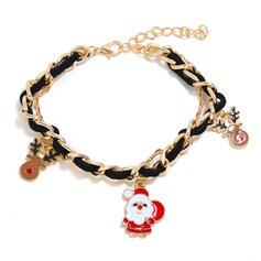 Julren Jul Julen Santa Legering Armband