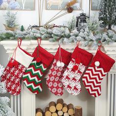 Jul god Jul Hängande Presentpåse Sticka