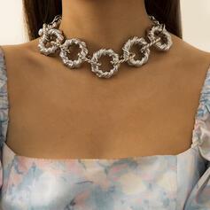 Fashionable Alloy Women's Ladies' Necklaces