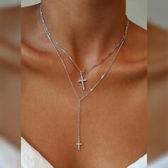 Utsökt Charmen Legering Halsband Strand smycken