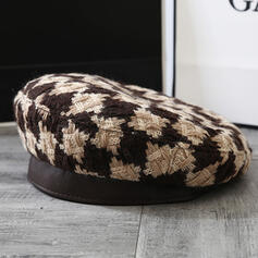 Women's Beautiful/Pretty/Charming/Artistic Cotton With Flax Beret Hats