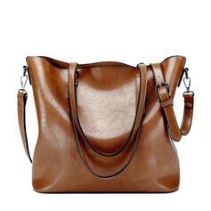 Elegant/Vintage/Multifunktionella/Enkel/Super bekvämt Tygväskor/Axelrems väskor/Hobo väskor/Handtagsväskor