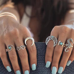 Sexy Boho Alloy Women's Rings 6 PCS