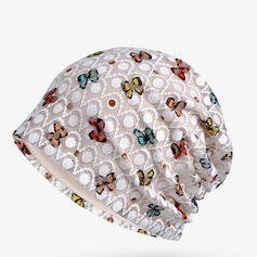 Women's Beautiful/Pretty/Charming/Artistic Cotton With Flax Turban Hat