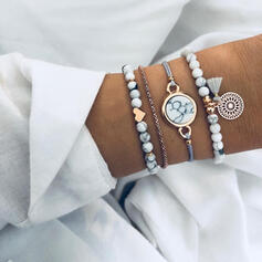 Modern Klassisk stil Legering med Tofsar Smycken Sets Armband 4 st