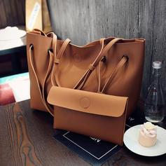 Elegant/Solid Color Tote Bags/Bag Sets/Wallets & Wristlets
