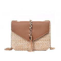 Charming/Refined/Cute/Shell Shaped/Bohemian Style/Braided Crossbody Bags/Shoulder Bags/Beach Bags