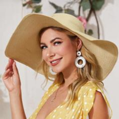 Ladies'/Women's Unique/Simple Papyrus Floppy Hats/Beach/Sun Hats