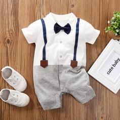 baby pojke Rosett Print Bomull Baddräkter