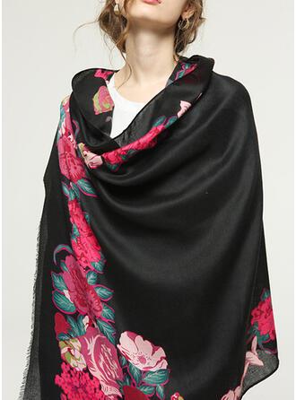 Blommig Sjal/attraktiv/mode Halsduk