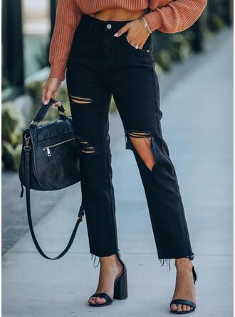 Solid Rev Tofs Elegant Sexig Mager Denim & Jeans