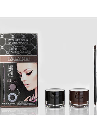 2 PCS Classic Plastic Eyeliner With PVC Bag