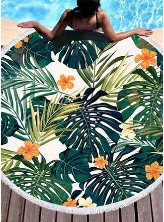 Blommig attraktiv/mode/färska handduk