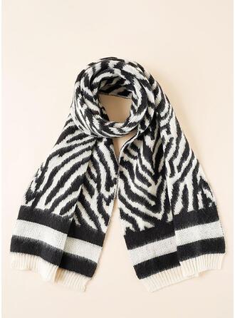 Striped Warm/Comfortable/Skin-Friendly Scarf