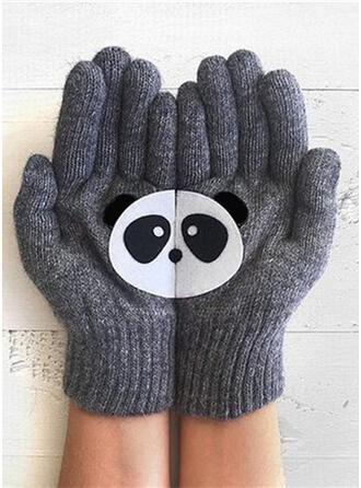 Solid färg/Djur/Söm attraktiv/Djur Designad Handskar