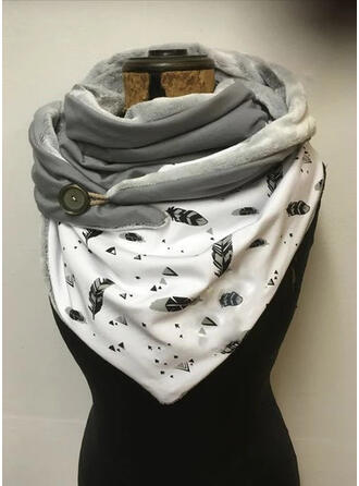 Leaves/Graphic Prints fashion/Comfortable Scarf