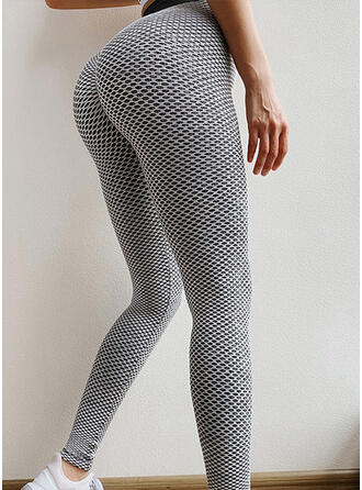 Patchwork Mesh Yoga Stretchy Leggings