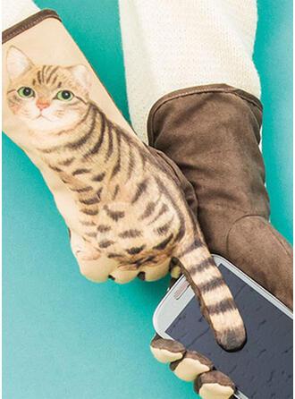 Animal/Graphic Prints Animal Designed/Skin-Friendly Gloves