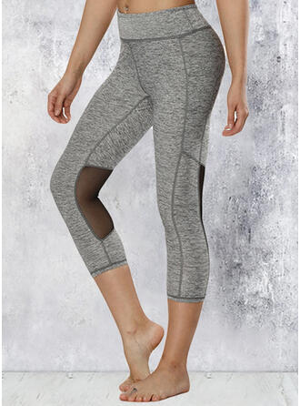 Lace Patchwork Sexy Yoga Stretchy Leggings