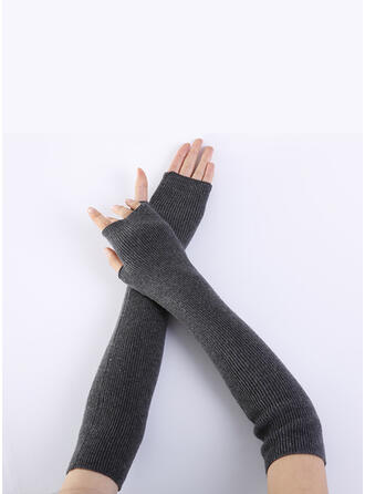 Solid Color/Crochet Breathable/Women's/Fingers Gloves