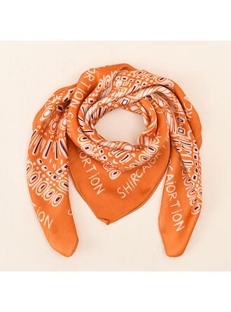Letter/Print attractive/fashion/simple/Comfortable Scarf/Square scarf