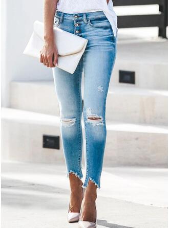 Rev Tofs Lång Elegant Sexig Denim & Jeans
