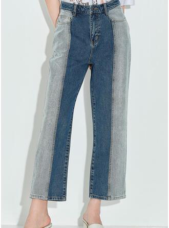 Plaid Vintage Denim & Jeans