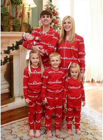 Bear Print Family Matching Christmas Pajamas